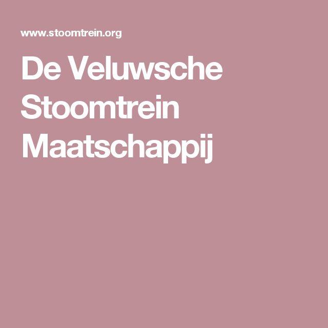 De Veluwsche Stoomtrein Maatschappij