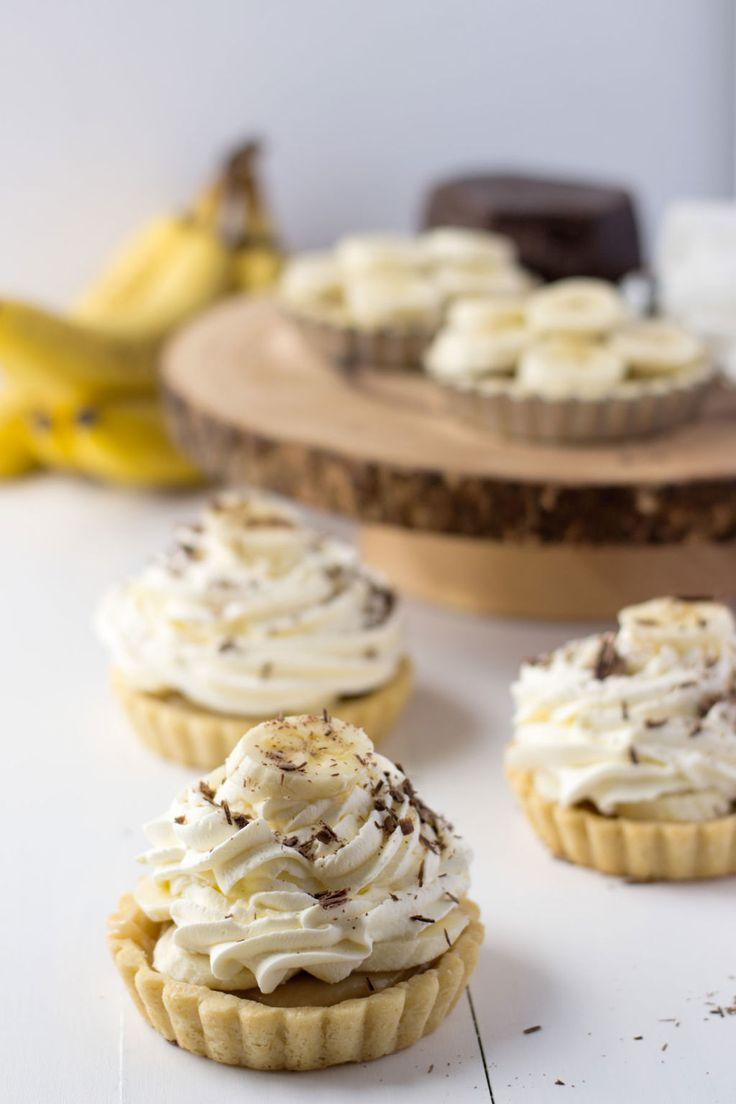 Mini Banoffee Tarts