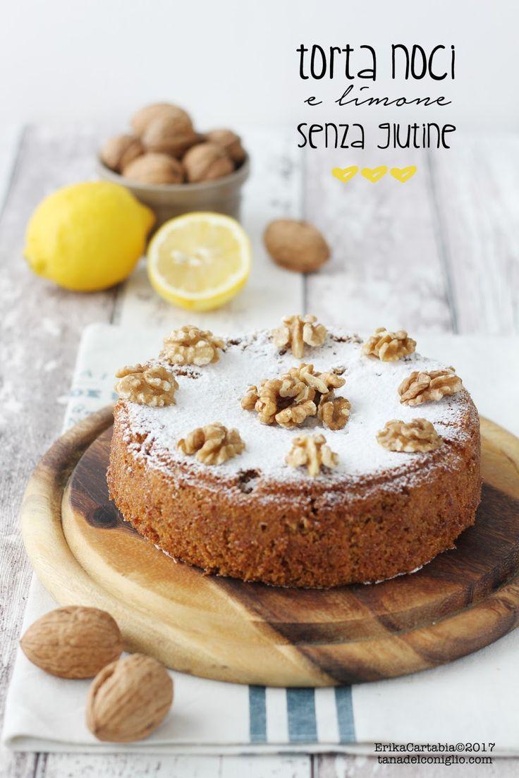 La torta alle noci e limone  è il classico dolce da credenza, ma con l'unica importante accortezza di essere senza glutine . Perfetto a c...