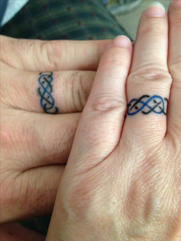 Best Wedding Ring Tattoos Images On Pinterest Tattoo Rings