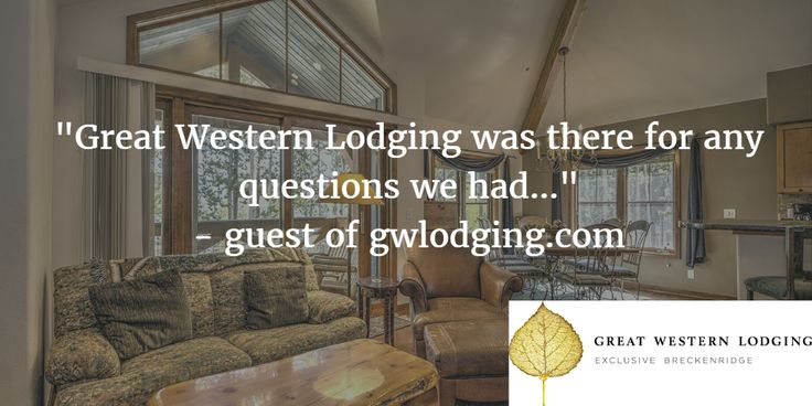 """""""The condo was amazing & well worth every penny...we couldn't have asked for a better stay."""" http://www.gwlodging.com/rentals/properties/los-pinos-23a/?utm_campaign=coschedule&utm_source=pinterest&utm_medium=Great%20Western%20Lodging&utm_content=Los%20Pinos%2023A%20%7C%20Breckenridge%20Townhome%20Rentals #breckenridge #stayinbreck #breckbecause"""