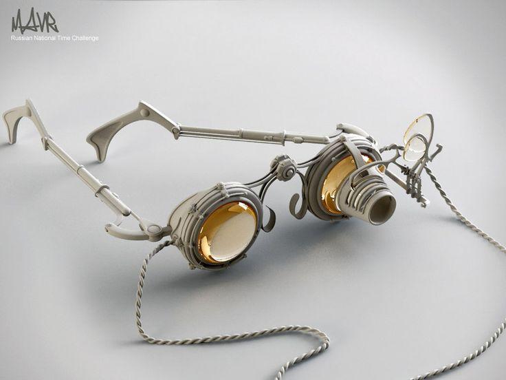 Steampunk glasses - I love steampunk fashion!