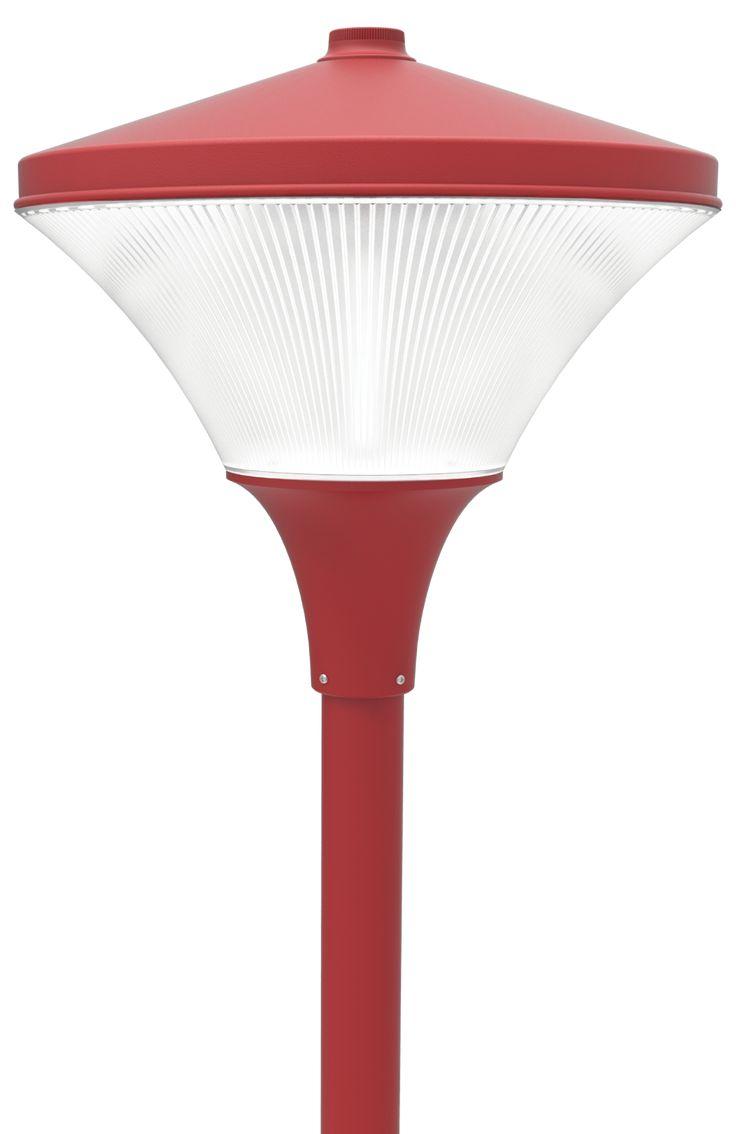 LED Post Top Light Fixture LED-PT-641 Series  DukeLight.com