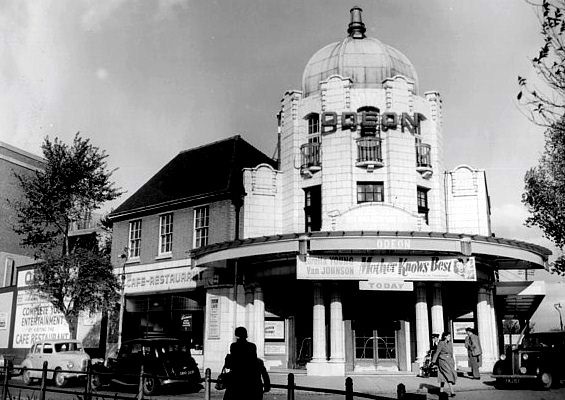Odeon Cinema at Watford, Hertfordshire (film showing Mother Knows Best with Van Johnson - 1949)