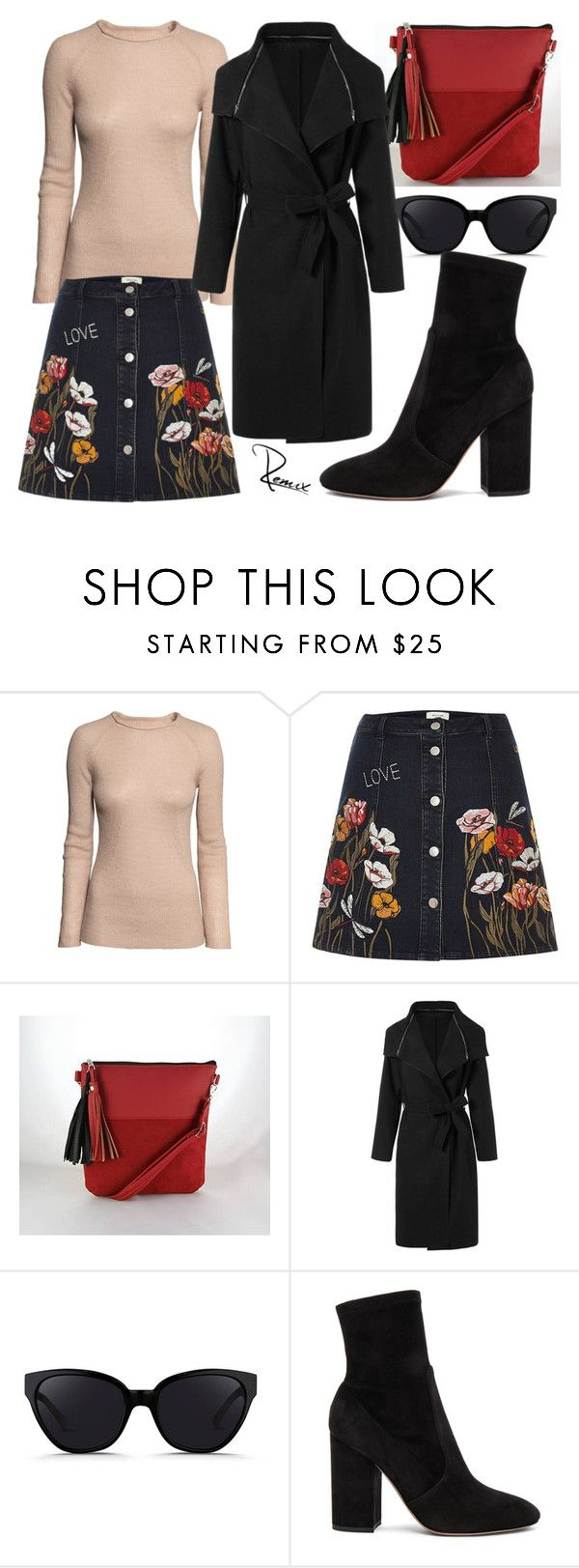 """Fall flowers"" by aleva on Polyvore featuring H&M, River Island, 3.1 Phillip Lim and Valentino"