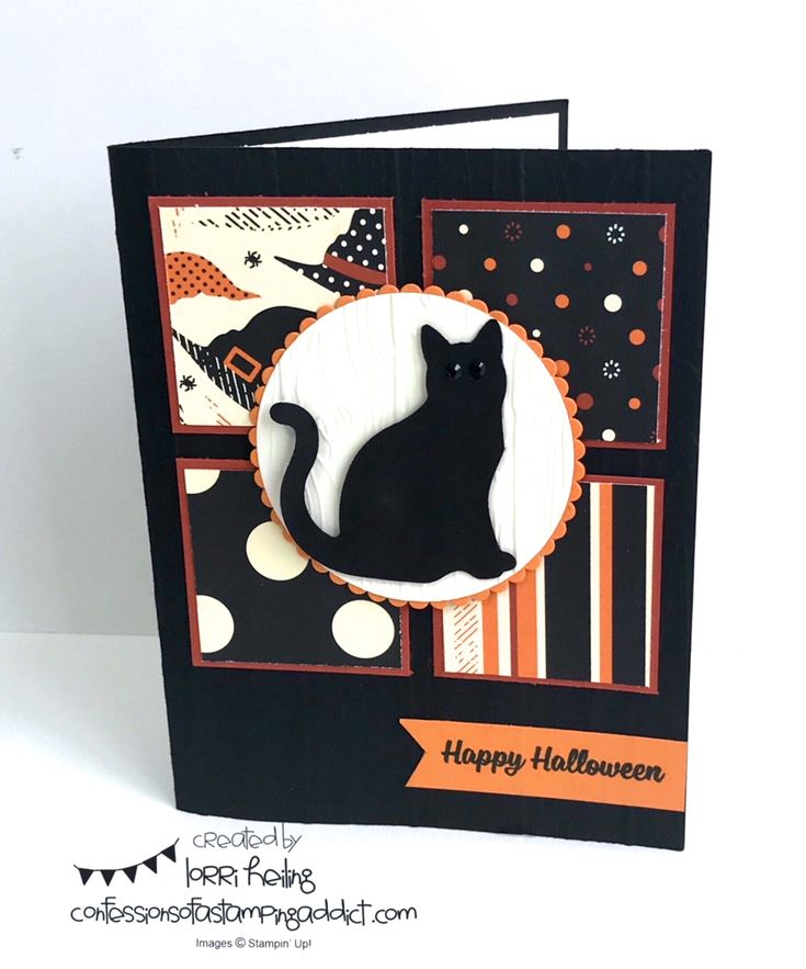 Spooky Cat Card and Fun Halloween Activities with Stella!