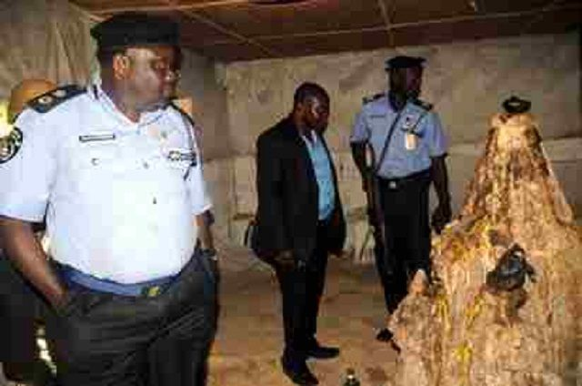 Another Kidnappers Den With Underground Cell, Shrine Uncovered In Ibadan | TNN.ng