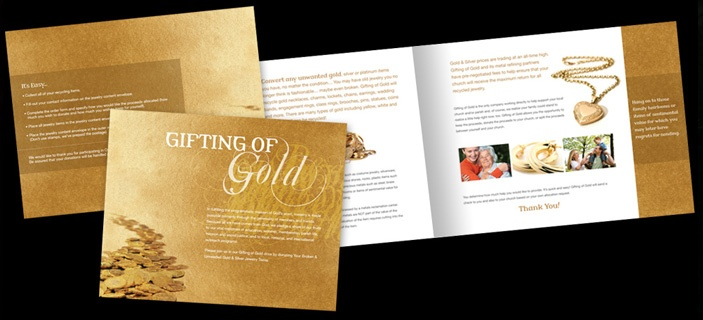 Image result for gold brochures