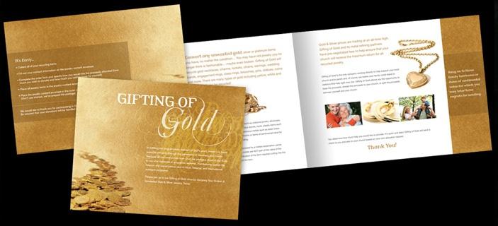 Image result for gold brochures