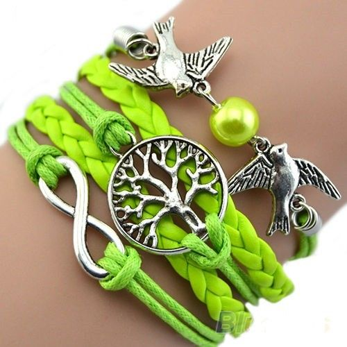 Delicious limegreen bracelet with designs. via Freaks4fashion Online Store. Click on the image to see more!