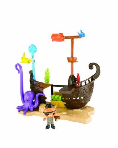 Octonauts Kwazii's Shipwreck Playset by Mattel. $59.99