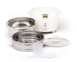 stainless steel rice cooker & steamer