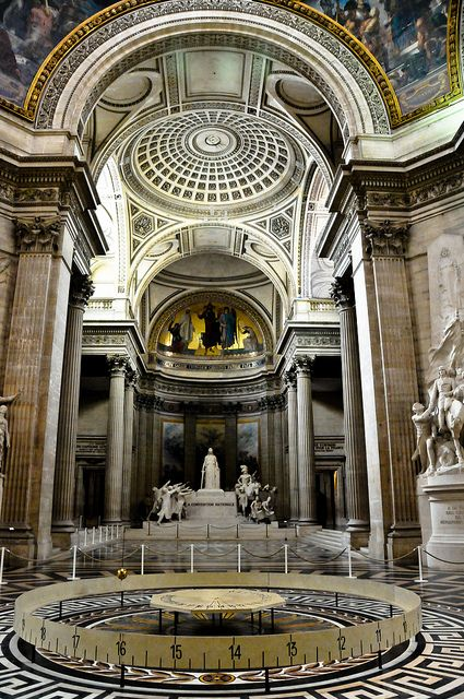 The Pantheon - Paris France by mbell1975, via Flickr