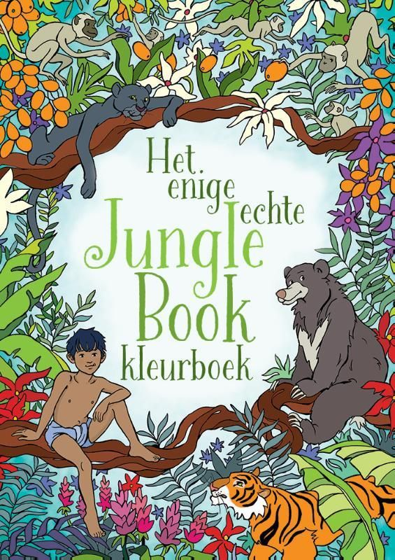 Jungle Book is een van de beroemdste Disneyfilms aller tijden - het was de laatste film waar Walt Disney persoonlijk aan meewerkte. Het klassieke verhaal over weesjongetje Mowgli en zijn vrienden en vijanden in de jungle laat niemand onberoerd. Het unieke Enige echte Jungle Book kleurboek is een feest om in te kleuren: ontmoet Mowgli en de dieren in de jungle en kleur ze helemaal in je eigen stijl. Leuk voor kinderen én hun ouders!