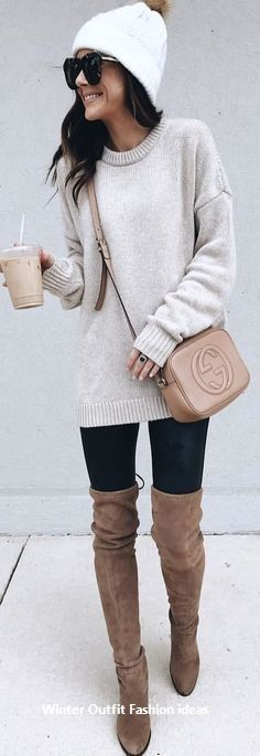 Elegant and Cozy Outfits Ideas for Winter 2019 #womensfashion
