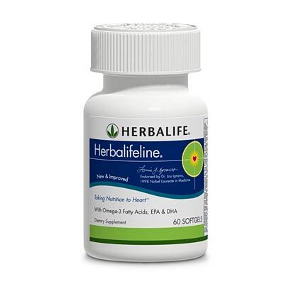 HEART HEALTH>  Herbalifeline®: This exclusive blend of highly refined marine lipids contains Omega-3 fatty acids, especially eicosapentaenoic acid (EPA) and docosahexaenoic acid (DHA).   Key Benefits: Omega-3 fatty acids may reduce the risk of heart disease and support joint health.   ORDER NOW and FEEL THE DIFFERENCE!  https://www.goherbalife.com/goherb/