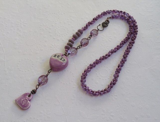 Hold On My Heart necklace £26.00