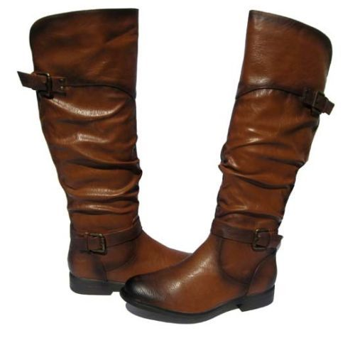 New-Womens-Ridding-Boot-Pita-Cognac-Shoes-Winter-Snow-Fur-Lined-Ladies-size-10