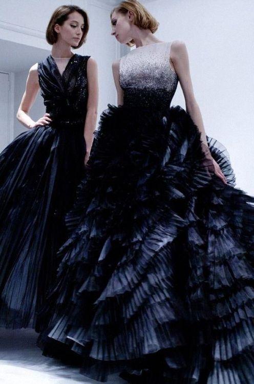 Black wedding dress <3
