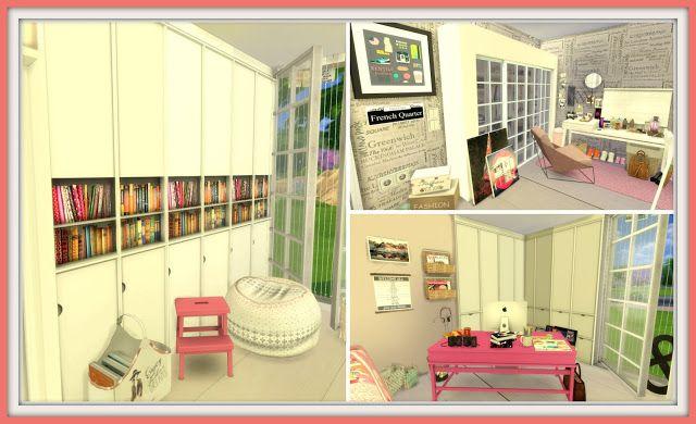 Sims 4 - Tumblr Teenage Bedroom