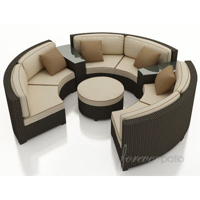 Curved Sectional, Outdoor Sectional, Sectional Sofas, Modular Sofa, Sofa  Set, Patio Ideas, Outdoor Furniture, Garden Furniture Outlet, Sectional Sofa