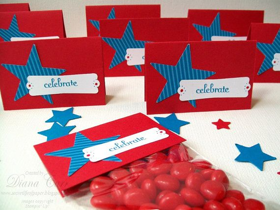 memorial day party favor ideas