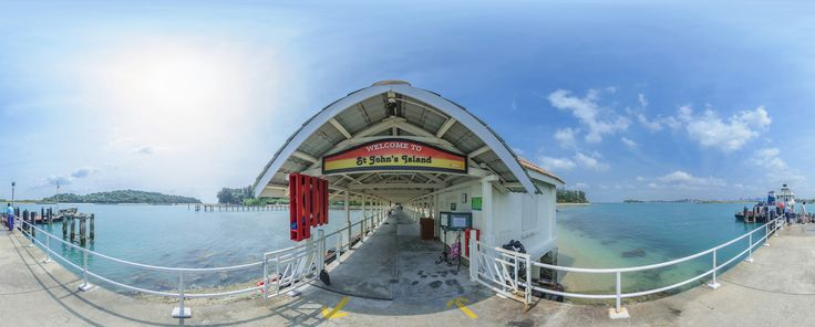 St John's Island - The Southern Islands of Singapore's Gem  #sg #travel #holiday #chalet #stjohnisland
