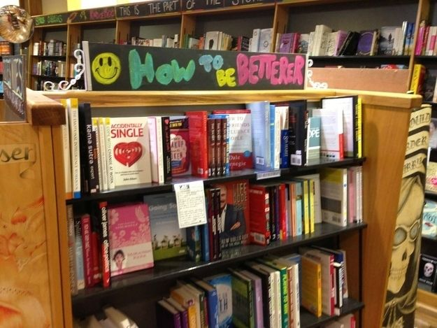 Be better than you were being better before. | 13 Clever Signs That Will Make You Want To Buy A Book
