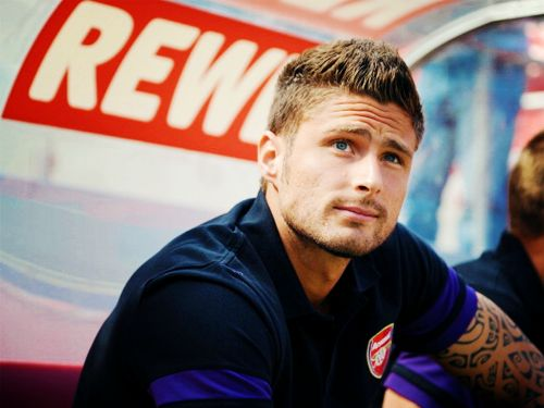 Olivier Giroud - Arsenal and France NT.