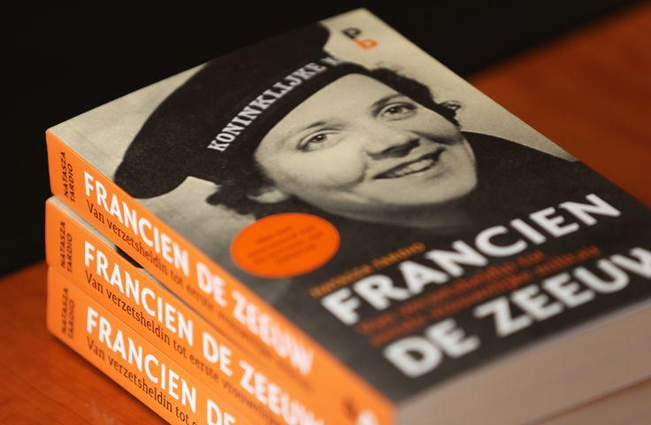 Francien de Zeeuw, van verzetsheldin tot eerste vrouwelijke militair. Een boekbespreking van de ODB lees meer………