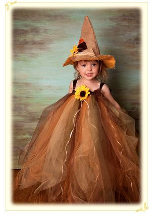 Scarecrow / Fall Tutu Dress by MyPreciousTutu on Etsy, $60.00