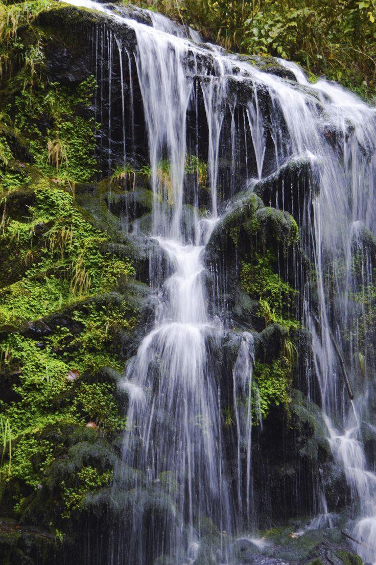 Der kleine Bruder vom Todtnauer Wasserfall. Der vollständig naturbelassene Wasserfall im Schwarzwald ist seit vielen Jahren durch Wanderwege und Brücken erschlossen und ein Besuch lohnt sich.