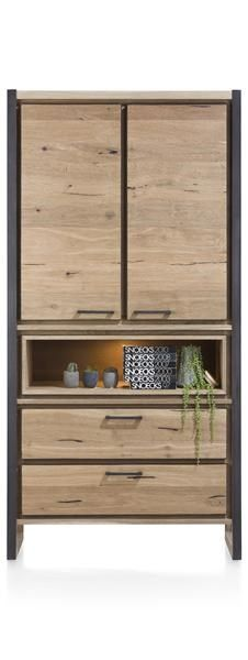 Simple Henders u Hazel Metalo Schrank Tueren Laden Nischen