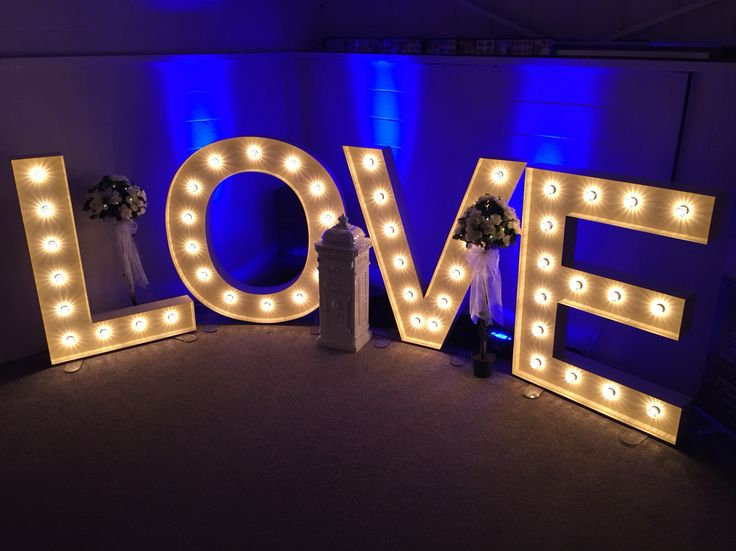 12 Best 5ft & 4ft Illuminated Letter Hire Images On
