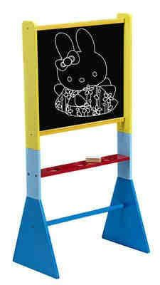 Tigris Wholesale Wooden Blackboard Easel On Blue Stand  - Availability: in stock - Price: £29.99