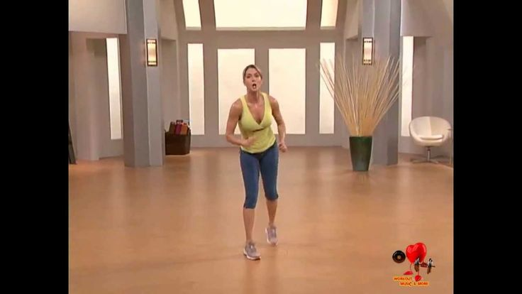 10 Minute Solution, 5 Day Fit - Cardio Kickboxing (one of my favorite quick workouts!)
