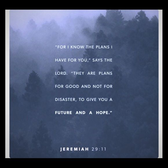 """FEELS GOOD TO KNOW HES GOT MY BACK!!! """"For I know the thoughts that I think toward you, saith the Lord, thoughts of peace, and not of evil, to give you an expected end."""" Jeremiah 29:11 KJV Be specific Other"""