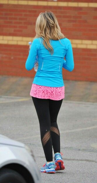 Gemma Merna In Leggings