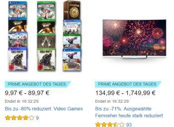 """Prime-Day-Countdown: Heute LED-TVs, Serien und Videogames im Angebot https://www.discountfan.de/artikel/technik_und_haushalt/prime-day-countdown-heute-led-tvs-serien-und-videogames-im-angebot.php In einer Woche ist es soweit: Der Prime Day 2016 ist da. Ab sofort stehen täglich wechselnde Angebote im Rahmen des """"Prime Day Countdown"""" zur Verfügung. Den Anfang machen Videogames, Filme und LED-TVs. Prime-Day-Countdown: Heute LED-TVs, Serien und Videogames im Angeb"""