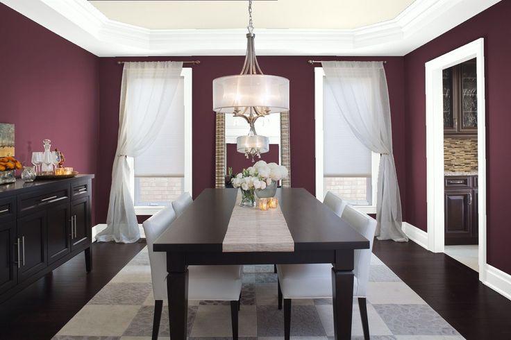 Purple Dining Room Ideas: 25+ Best Ideas About Purple Dining Rooms On Pinterest