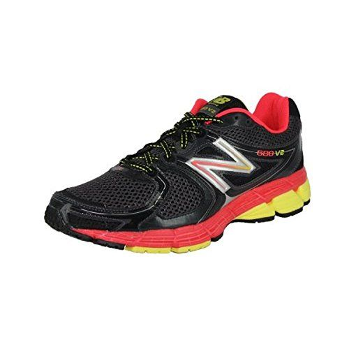 New Balance Womens W680V2 Running ShoeBlackPink7 B US * Read more reviews of the product by visiting the link on the image.