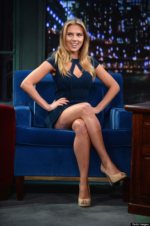 Scarlett Johansson's Gorgeous 'Late Night With Jimmy Fallon' Appearance