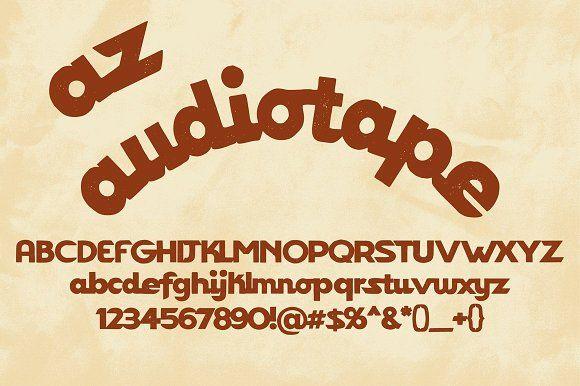 AZ Audiotape by Artistofdesign on @creativemarket