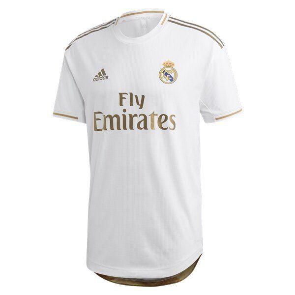 Real Madrid 2019 2020 Home Player Jersey White Realmadrid Madrid Halamadrid Hazard Edenhazard Zidane Cr7 Real Madrid Soccer Soccer Jersey Real Madrid