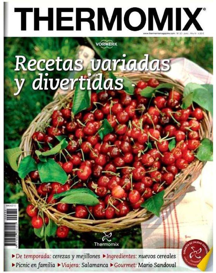 Thermomix Magazine nº 32 Recetas variadas y divertidas