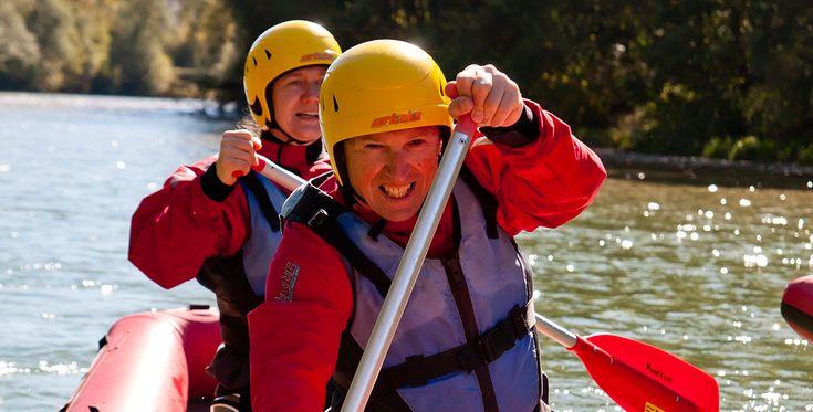 Wildwasser Kanutour auf der Isar in Bad Tölz Bayern #Wassersport #Abenteuer #Geschenk