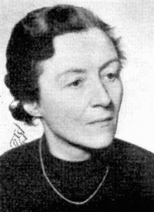 Andrea Andreen (1888-1972) Swedish physician, pacifist, feminist