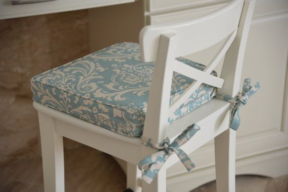Chair Pad for Kitchen, Sunbrella  Outdoor Chair Pads, Dining Room Cushion, Kitchen Chair Cushion