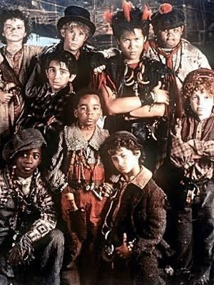 I love the lost boys from Hook. Roofio!