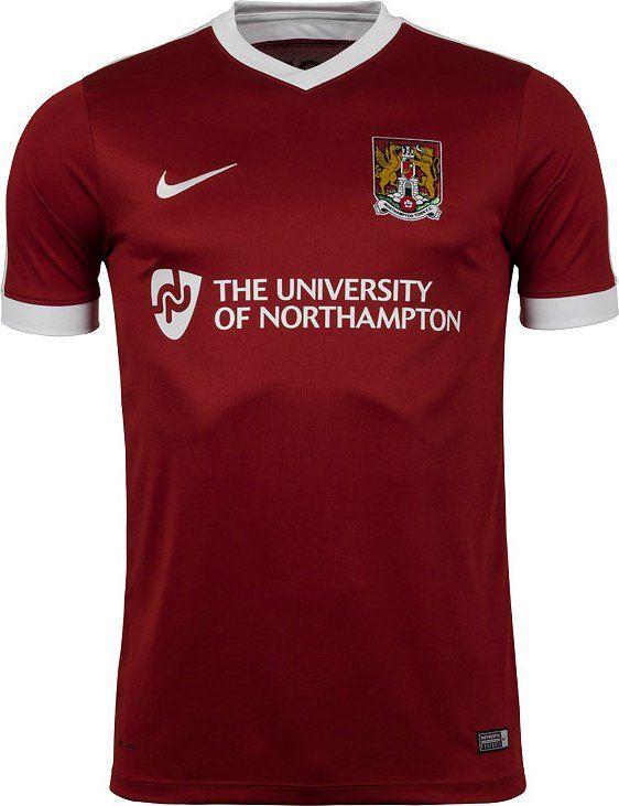 Nike divulga nova camisa titular do Northampton Town - Show de Camisas